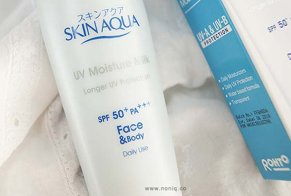 Review Skin Aqua Uv Moisture Milk Spf50 Pa Noniq A Review Blog