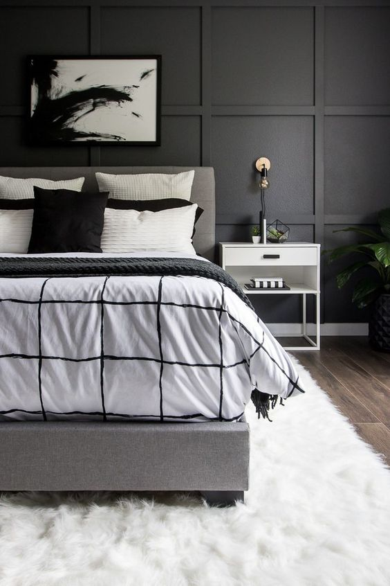 Modern Black And White Bedroom Decor For The Modernist Home Decor Pattiserie