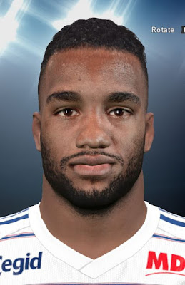 Alexandre Lacazette PES2016 Face By DzGeNiO