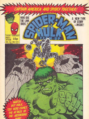 Spider-Man and Hulk Team-Up #439, the Absorbing Man