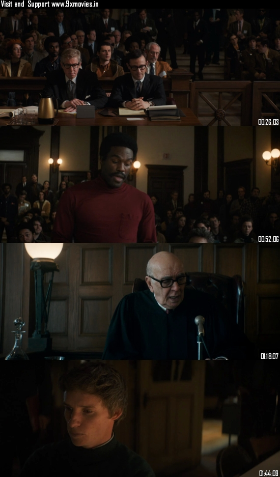 The Trial of The Chicago 7 (2020) English 720p WEB-DL 950MB ESubs