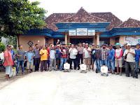 Cegah Penyebaran Covid-19, Desa Kedaton Semprotkan Disinfektan