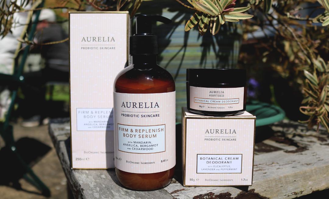 Aurelia Probiotic Skincare Firm & Replenish Body Serum & Botanical Cream Deodorant review