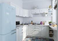 Example of Small Scandinavian kitchen design ideas
