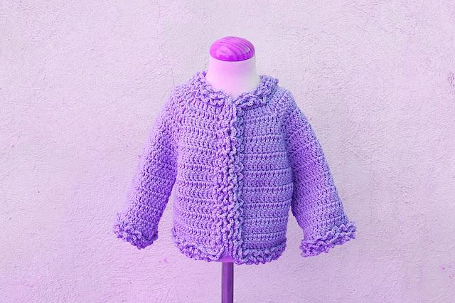 6 - Crochet Imagenes Chaqueta de invierno a crochet y ganchillo por Majovel Crochet