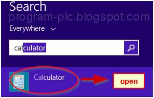 Calculator Windows 8
