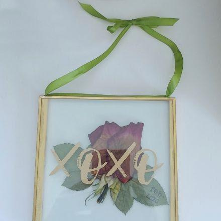 Dried Flower Keepsake DIY