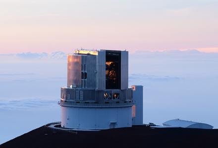 Resultado de imagen de En el año 2012 el telescopio Subaru, del Observatorio Nacional de Japón (NAOJ) y situado en Hawaii