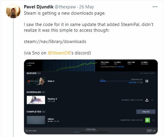 Steam İndirme Sayfasını Değiştiriyor ve Yeni Özellikler Geliyor