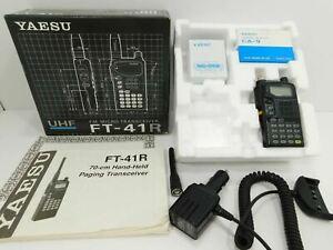 Yaesu FT-41R Amateur Handie Talkies