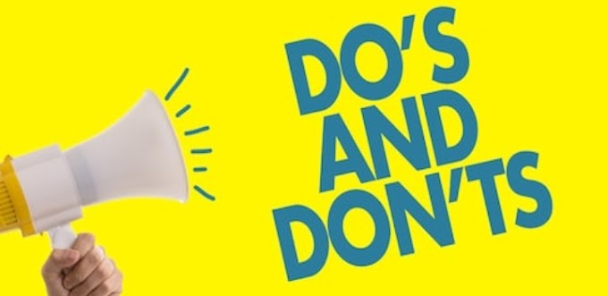 DO'S AND DON'T ON SOCIAL NETWORKING CHAT GROUPS.