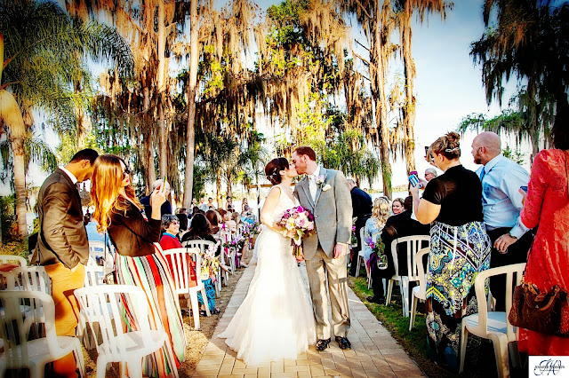 Wedding Photography Paradise Cove Orlando Fl Sara & Chase