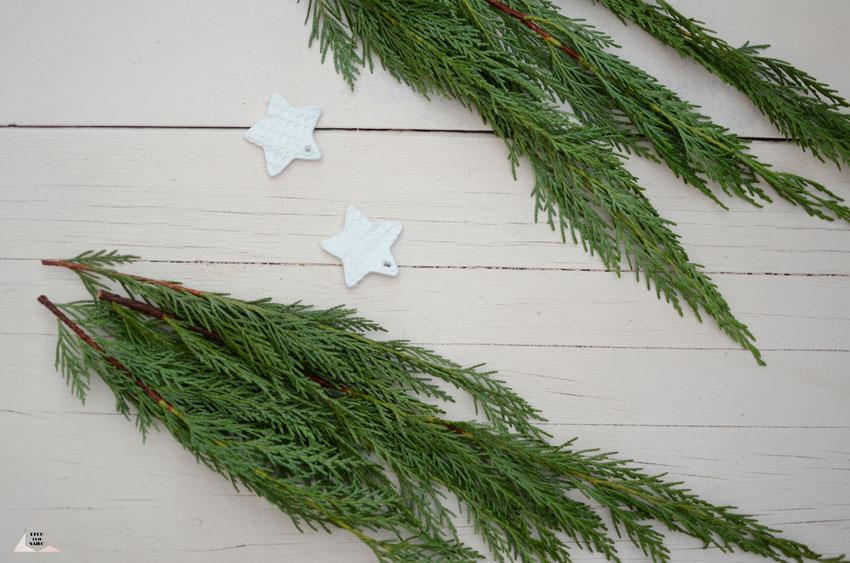decoracion navideña ramas hazlo tú mismo