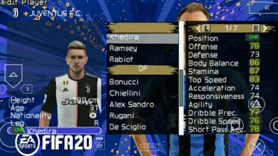 Texture PES Mod FIFA 20 PPSSPP Update 2020