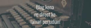 blog kena re-direct ke laman perjudian