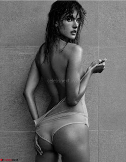 OMG Alessandra Ambrosio NUDE hiding her pussy with hand in Narcisse Magazine N6 2017