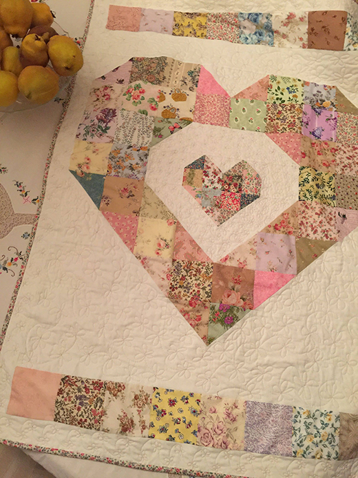 Baby Love Quilt designed by Susie Stuklis of Susie's Scraps