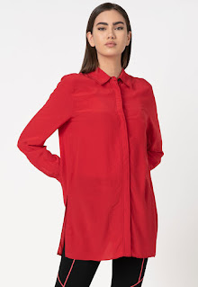 Karl Lagerfeld - Дамска Риза с класическа яка
