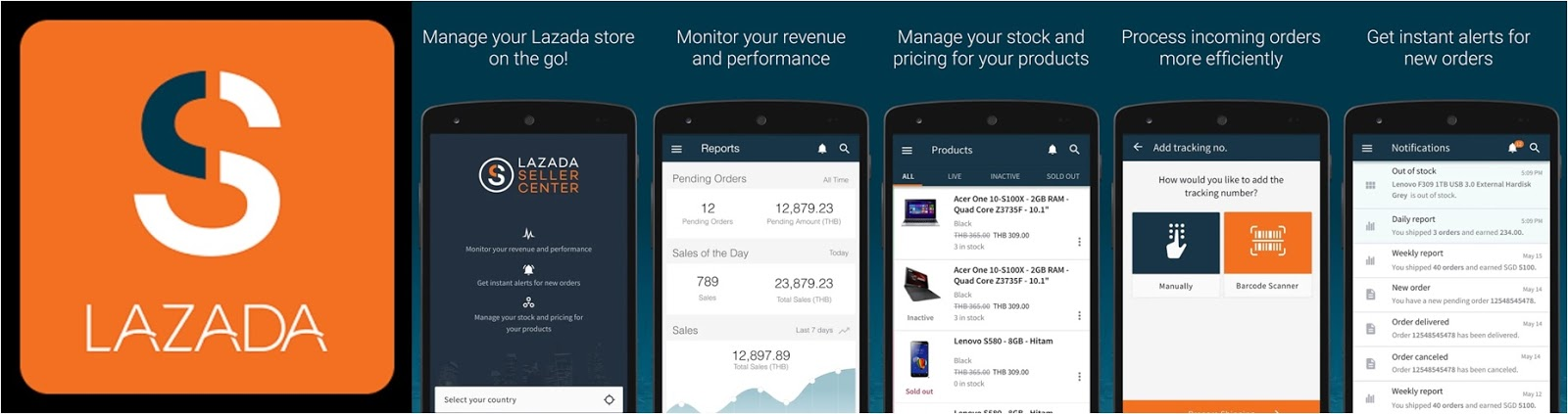 Lazada Launches Seller Center Android App – the First