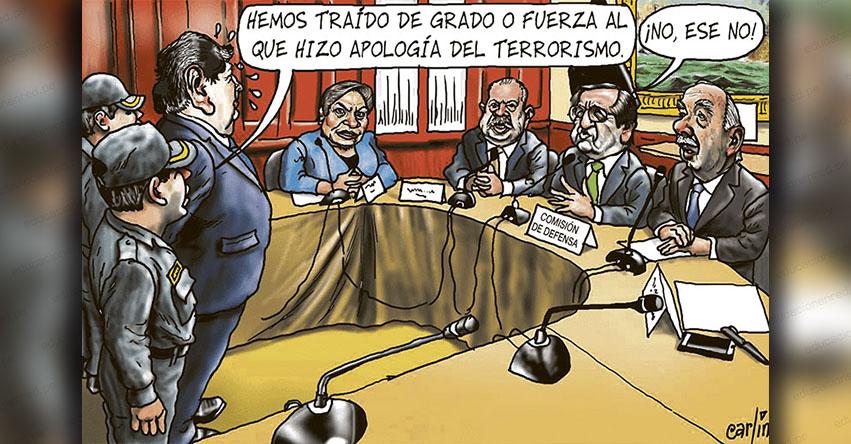 Carlincaturas Lunes 22 Octubre 2018 - La República