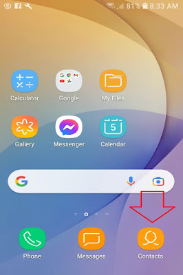 Click Contact Icon