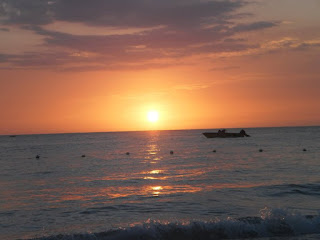 Sunset in Negril, Jamaica