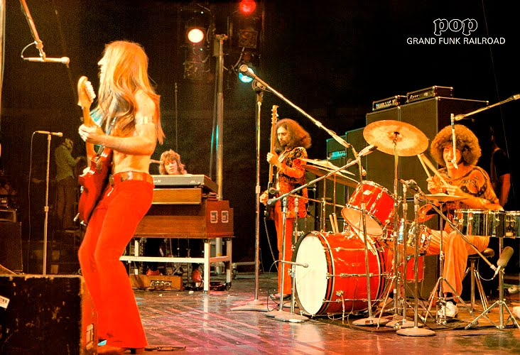 GRAND FUNK RAILROAD 1974