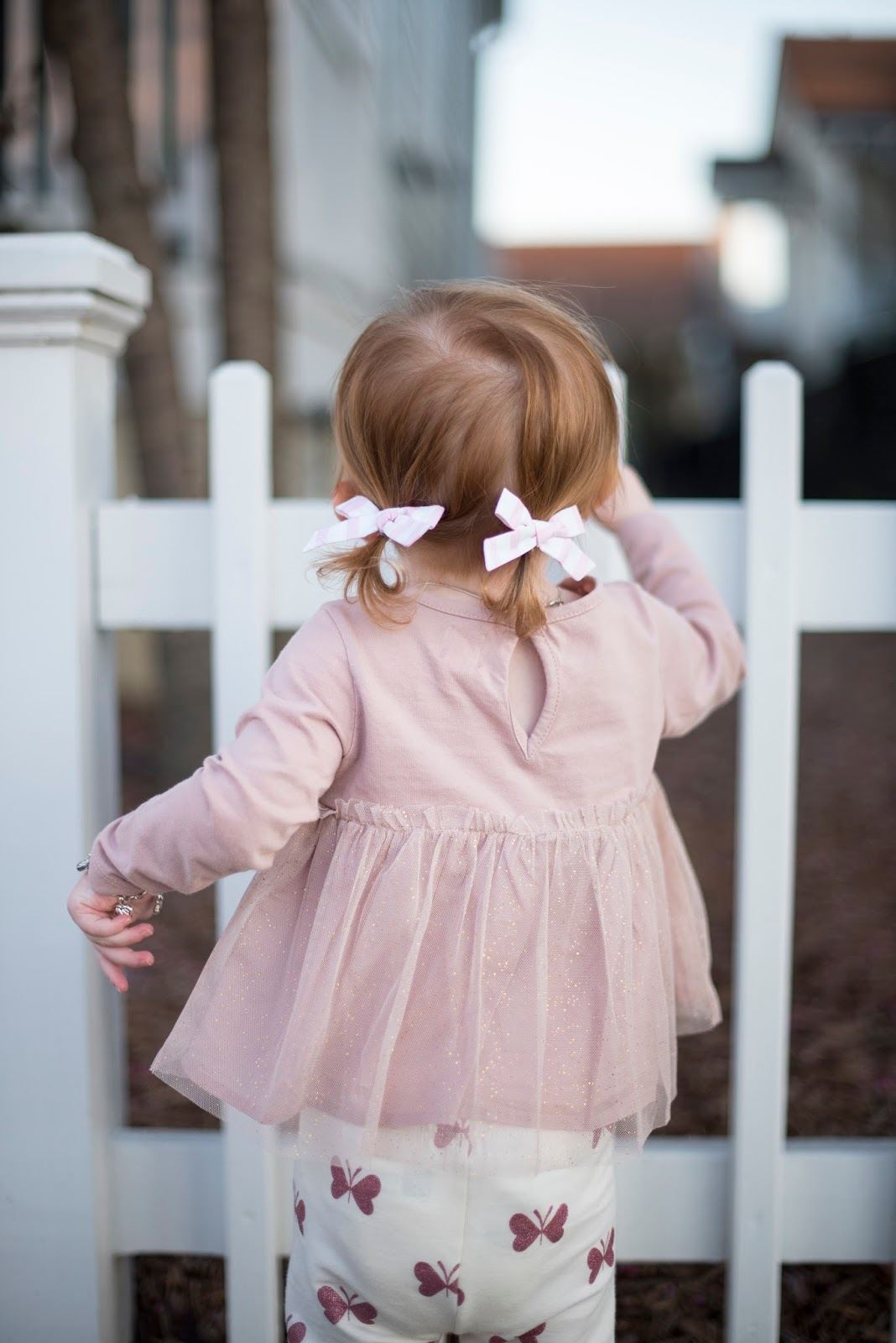 First Pigtails - Something Delightful Blog