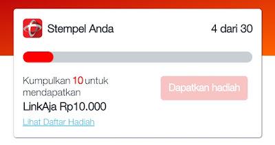 Gratis Saldo LinkAja Rp 10.000 Event Telkomsel Cuma - Cuma