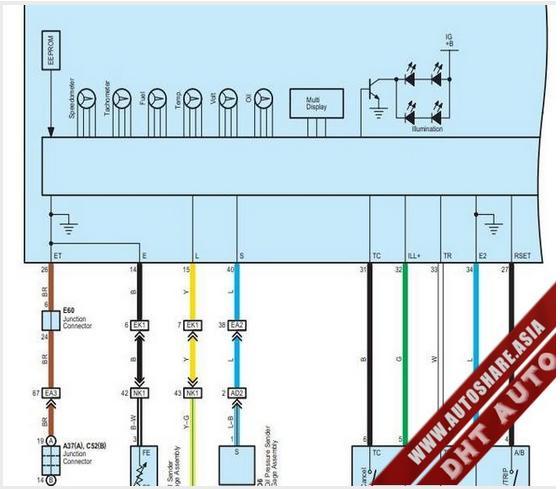 Free Automotive Manuals  Lexus Lx570 2010 Wiring Diagram