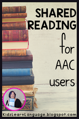 shared reading for aac users