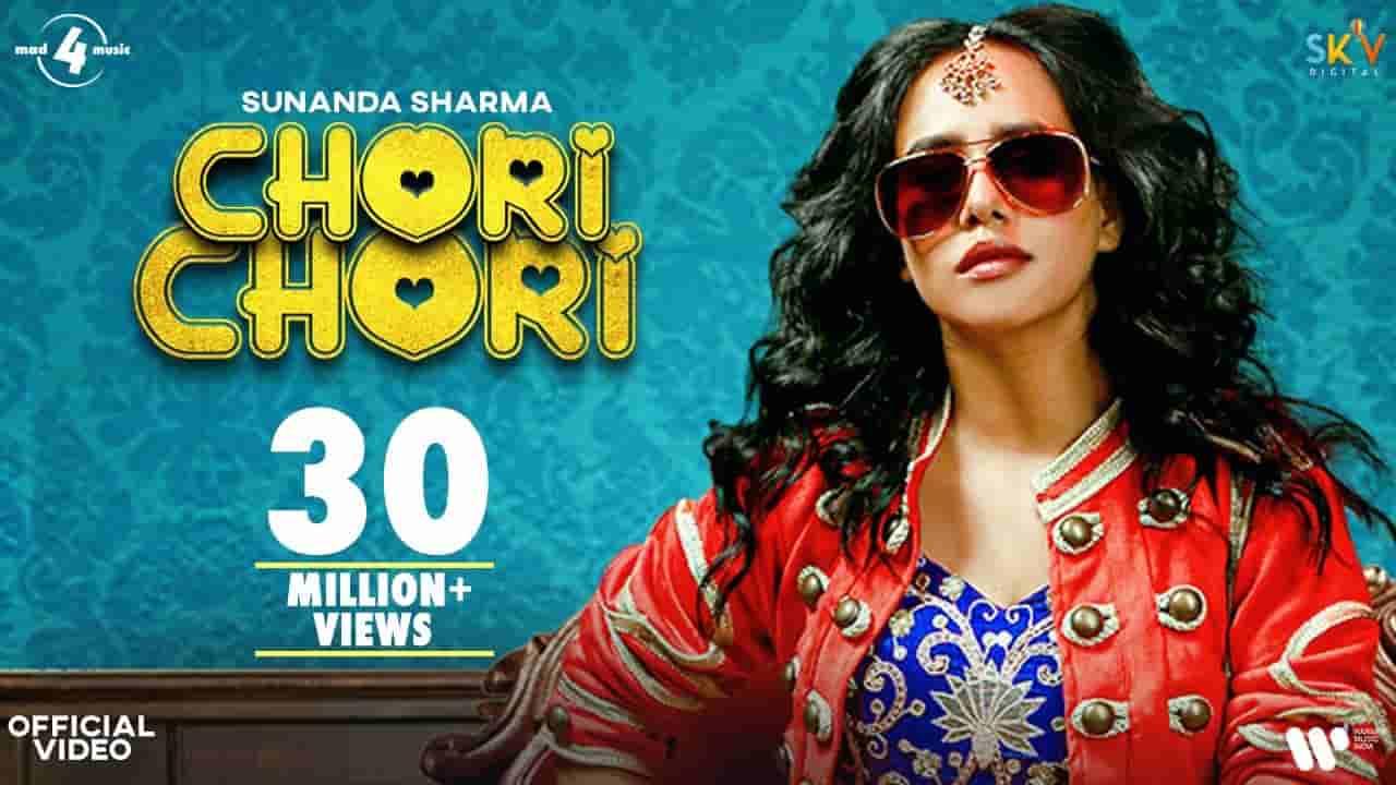चोरी चोरी Chori chori lyrics in Hindi Sunanda Sharma Punjabi Song