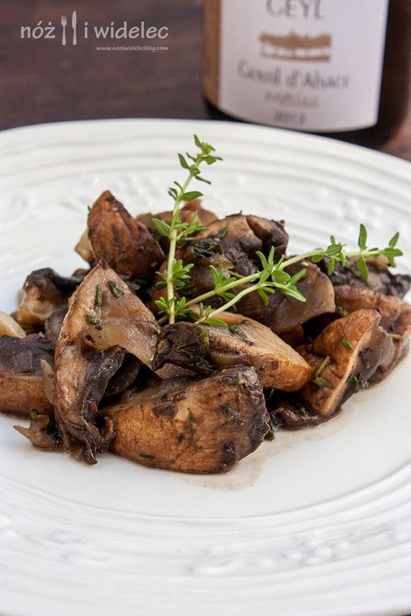 grzyby, pieczarki portobello