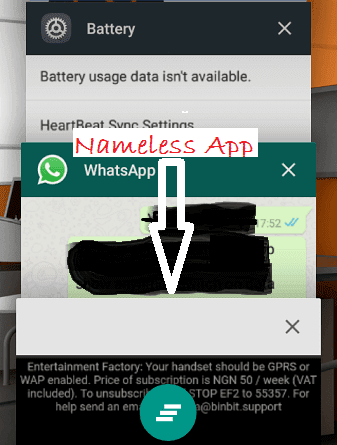 Enter Factory: How to Remove Nameless Android App