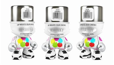 Chrome SuperKranky Vinyl Figure by Sket One x Superplastic