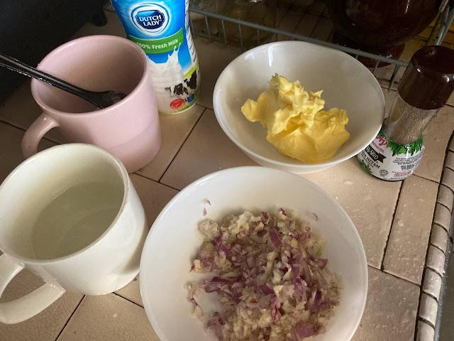 Resepi Mashed Potato KFC Versi Azie Kitchen