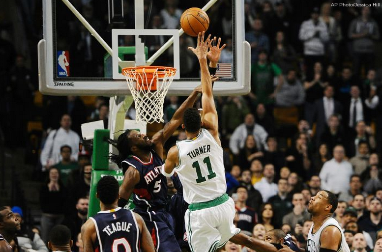 All the CRAZY stats from last night's improbable Celtics win over the Hawks | CelticsLife.com - Boston Celtics Fan Site. Blog. T-shirts