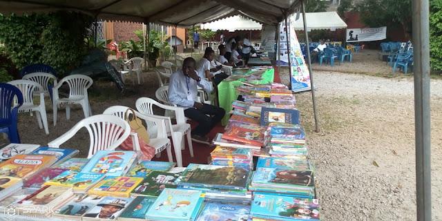 Guinée/éducation: la 3ème  édition du salon international du livre de jeunesse de Conakry ouvre ses portes