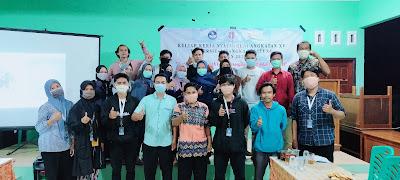 Bersama perangkat desa, Tim KKN XV Desa Ibul melakukan Rakor bersama-wisataibul.com