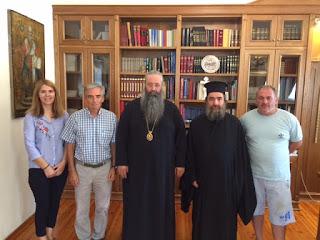 Συνάντηση του Μητροπολίτη Κίτρους, Κατερίνης και Πλαταμώνος για τον 4ο Δρόμο Αλληλεγγύης