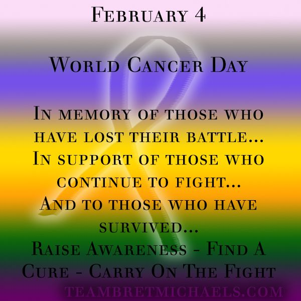 Cancer day date, what is the theme of world cancer day