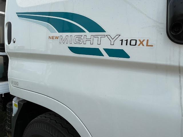 Mã hiệu Hyundai 110xl màu trắng