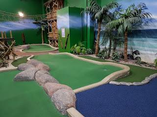 Paradise Island Adventure Golf centre in the Trafford Centre