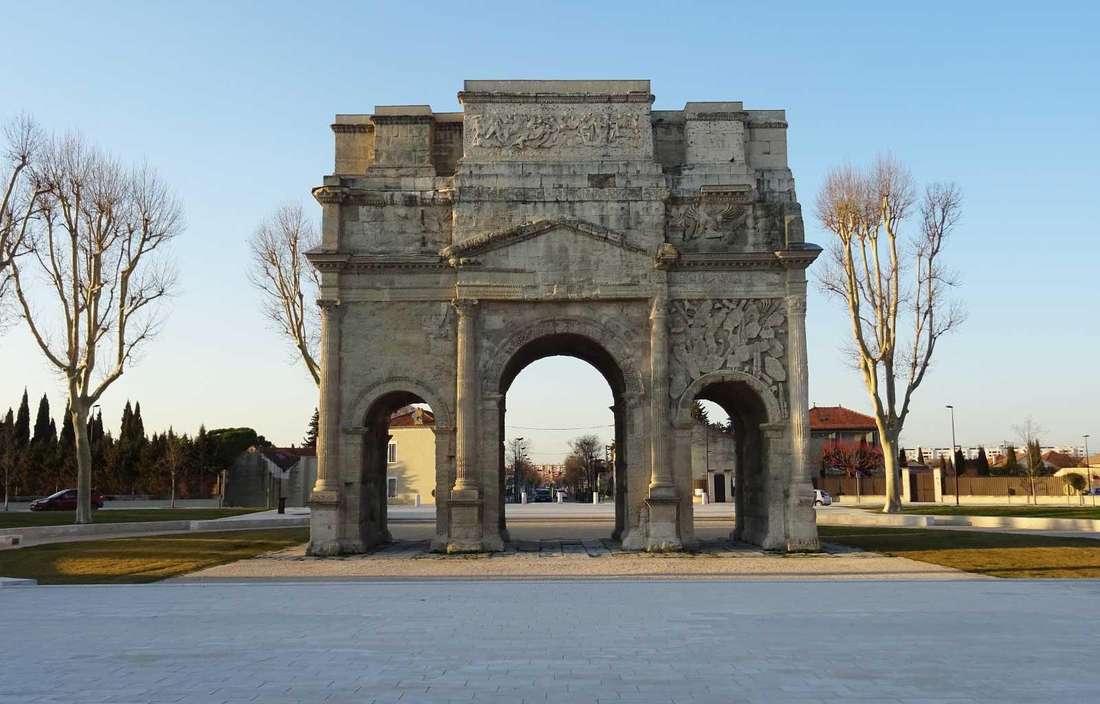 Orange Arc de triomphe