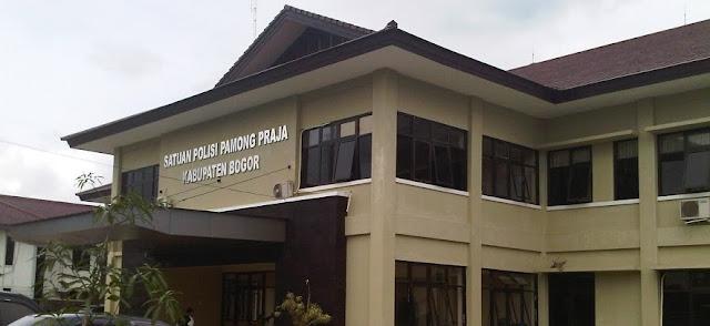 Kinerja Satpol PP Kabupaten Bogor Tahun 2016