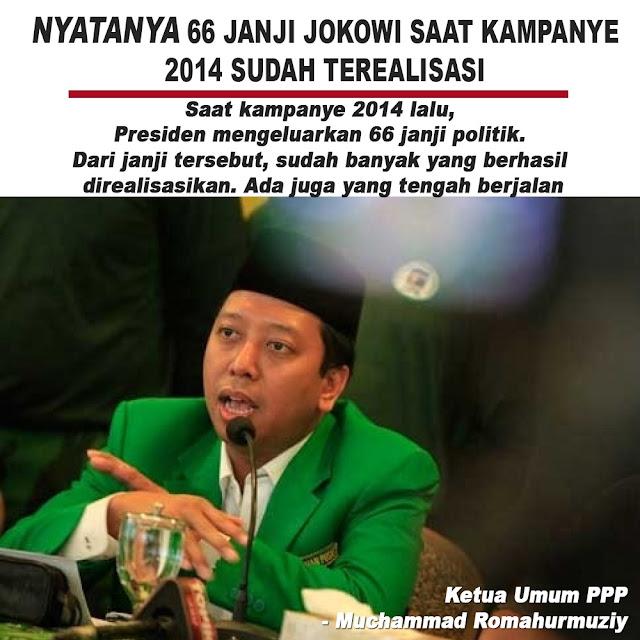 Nyatanya 66 Janji Jokowi Saat Kampanye 2014 Sudah Terealisasi