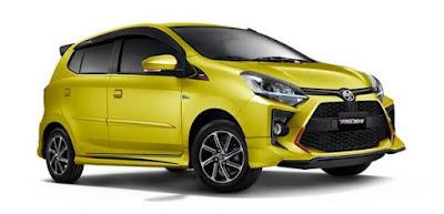 Harga Mobil Murah 2020-Toyota Agya