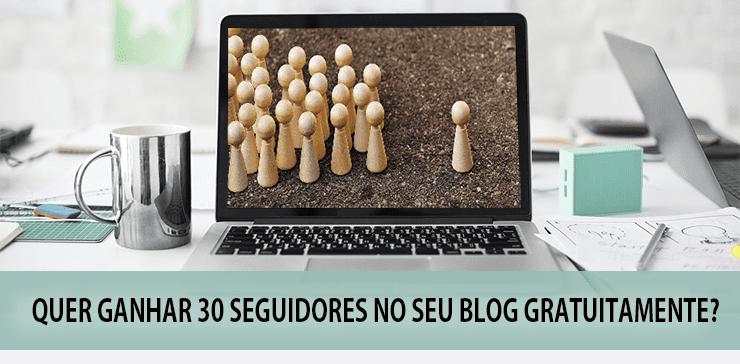 30 seguidores para blog