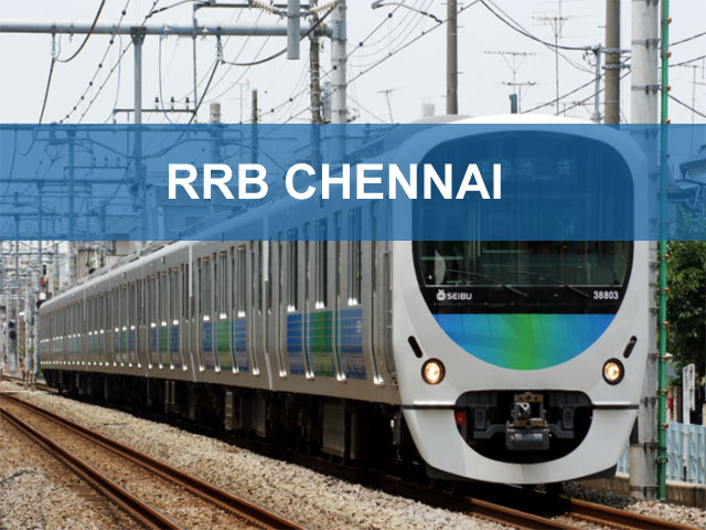 RRB Chennai 2018 (Group D | Loco Pilot) Exam Date Application Status