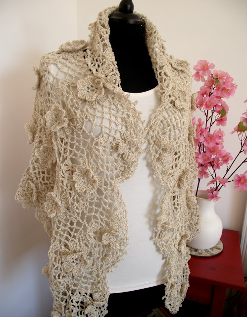 This Shawl goes well with any outfit!
